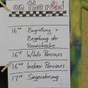 Der Zeitplan für das Rennen
